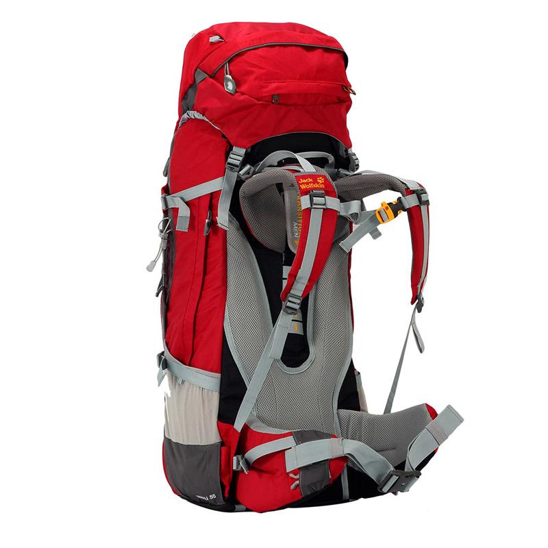 Jack Wolfskin Denali 70L Trekking Rucksacks Red 1