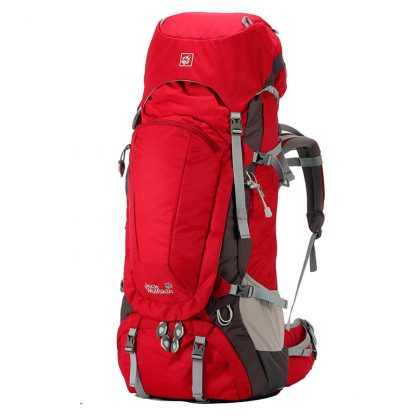 Jack Wolfskin Denali 70L Trekking Rucksacks Red