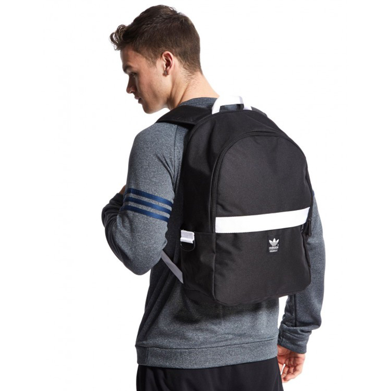 BALO Adidas Originals Essential Backpack Black Mã BA117 - Balo du lịch da85eb43a6